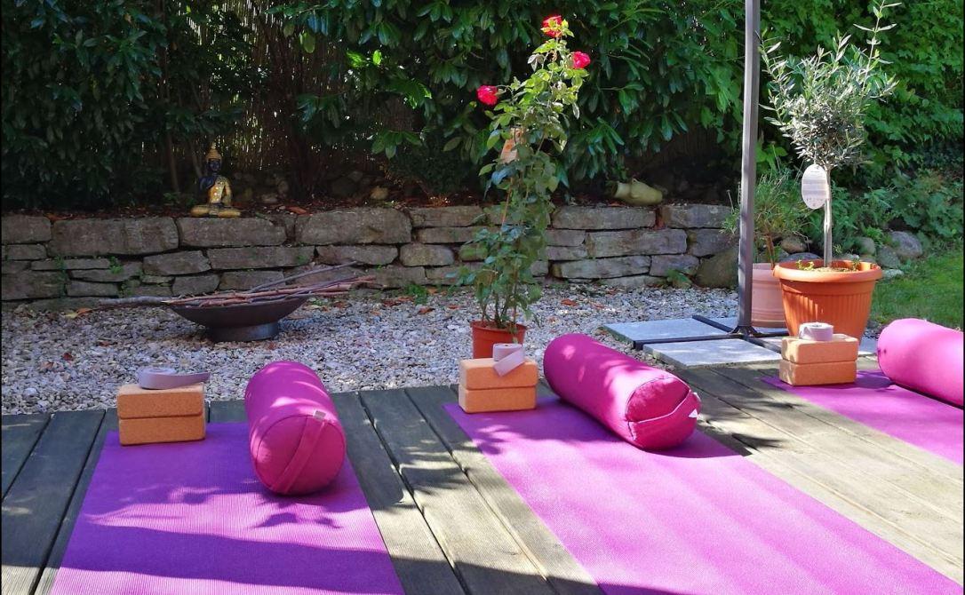 Yoga Dahoam Draussen