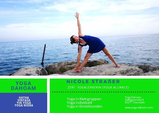 Yoga Dahoam Nicole Strasser